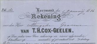 290 Cox-Geelen, T. H., 1886