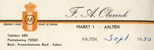 0043-0122 F.A. Oberink