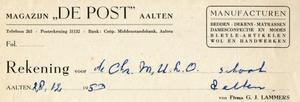 0043-0125 Magazijn De Post Manufacturen Bedden - Dekens - Matrassen Dames confectie en Modes Bleyle-artikelen Wol- en ...