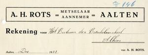 0043-0128 A.H. Rots Meselaar - Aannemer