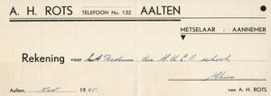 0043-0132 A.H. Rots Meselaar - Aannemer