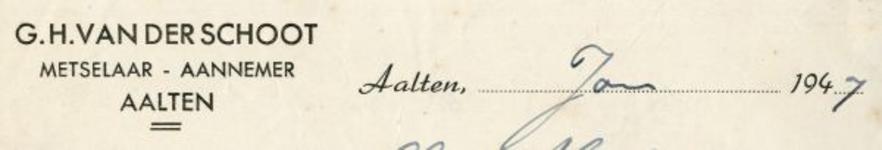 0043-0135 G.H. van der Schoot Meselaar - Aannemer