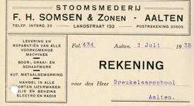 0043-0139 Stoomsmederij F.H. Somsen & Zonen