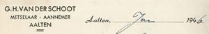 0043-0140 G.H. van der Schoot Meselaar - Aannemer