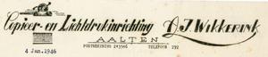 0043-0146 Copieer- en Lichtdrukinrichting A.J. Wikkerink
