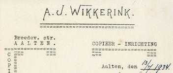 0043-0162 A.J. Wikkerink Copieer-inrichting