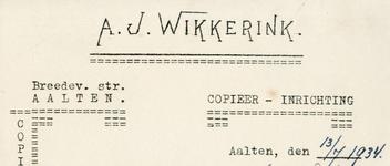 0043-0163 Copieer- en Lichtdrukinrichting A.J. Wikkerink