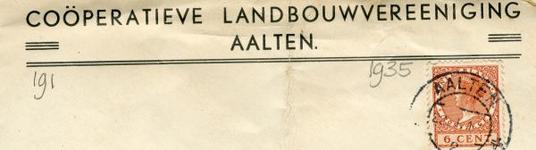 0043-0191 Coöperatieve Landbouwvereniging Aalten