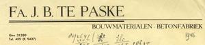 0043-0239 Fa. J.B. te Paske Bouwmaterialen Betonfabriek