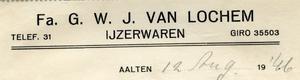 0043-0241 Fa. G.W.J. van Lochem IJzerwaren