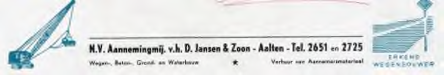 0043-0260 N.V. Aannemingmij. v.h. D. Jansen & Zoon