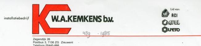 0043-0489 Installatiebedrijf K.W.A. Kempens B.V.