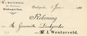 0043-0578 G.J. Westerveld Mr. Metselaar