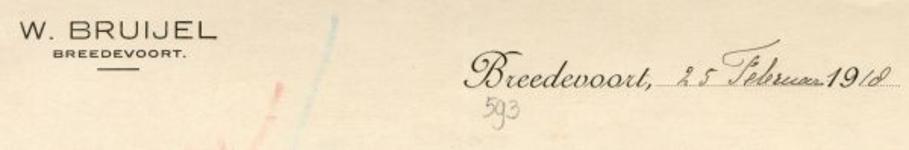 0043-0593 W. Bruijel