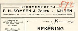 0043-0777 Stoomsmederij F.H. Xomsen & Zonen