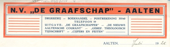 0043-0888 N.V. De Graafschap