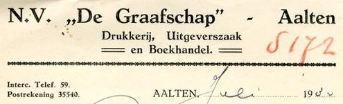 0043-0954 N.V. De Graafschap Drukkerij, Uitgeverszaak en Boekhandel