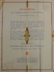 1101 Affiche uitgaande van Stichting Nederlandsch Kunstbezit houdende de oproep tot opsporing van Nederlandsche ...