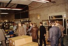 0906 Opening Sociale Werkplaats De Marke door Prins Claus. Bezichtiging van hte gebouw