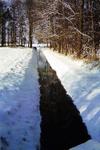 061 Landgoed Landfort, Kleefse graaf, in winters landschap (sneeuw), dia