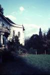 154 Huis Landfort, deel van de zuidgevel, dia
