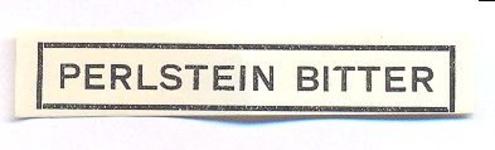 061 Perlstein Bitter. [Ph. van Perlstein & Zn NV]