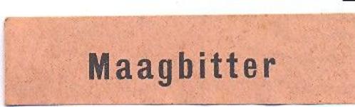 067 Maagbitter. [Ph. van Perlstein & Zn NV]