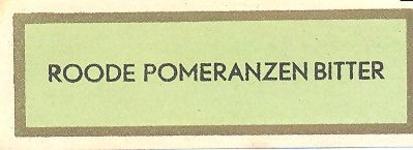 068 Roode Pomeranzenbitter. [Ph. van Perlstein & Zn NV]