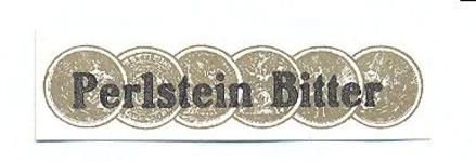 074 Perlstein Bitter. [Ph. van Perlstein & Zn NV]