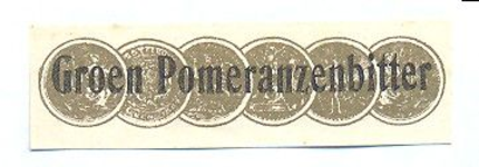 075 Groen Pomeranzenbitter. [Ph. van Perlstein & Zn NV]