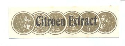 077 Citroen Extract. [Ph. van Perlstein & Zn NV]