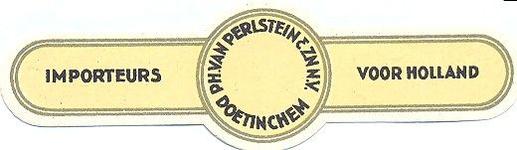 079 Ph. van Perlstein & Zn NV. Importeurs voor Holland