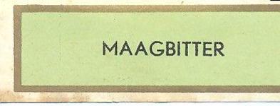 090 Maagbitter. [Ph. van Perlstein & Zn NV]