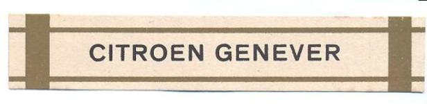 093 Citroen Genever. [Ph. van Perlstein & Zn NV]