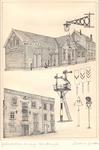 006 Het voormalig station van de Geldersch Overijsselsche Locaal Spoorwegmaatschappij (GOLS); het eerste gebouw van de ...