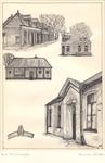 010 Woningen aan de Goudvinkenstraat; het eerste Rooms Katholieke schoolgebouw aan de Schoolstraat