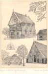 012 Spieker (graanopslaggebouw) bij boerderij Kössink in Henxel met bakoven; boerderij Decima in Huppel, het ...