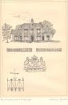 013 Kazerne Koninklijke Marechaussee, later gerestaureerd en verbouwd tot notariskantoor. Gebouwd in 1905, in 1992 aan ...