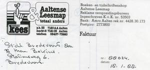 0684-1151 Meneer Kees & Aaltense Leesmap totaal anders Boeken- en tijdschriftenshop