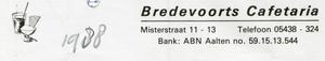 0684-1153 Bredevoorts Cafetaria