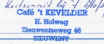 0684-1255 Café 't Kevelder