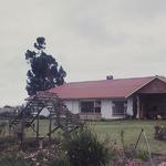 20-00186 Het huis van kolonel de Vos op het landgoed Groenlo in Plettenbaai, Zuid afrika