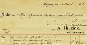 00299 A. Hulzink, timmerman