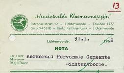 00318 Heusinkvelds Bloemenmagazijn