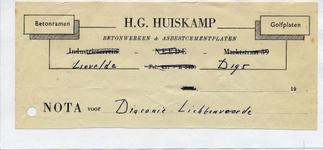00344 H.G. Huiskamp, betonramen, golfplaten, betonwerken & asbestcementplaten