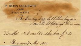 00372 Café B. Klein Goldewijk