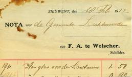 00582 F.A. te Welscher, schilder
