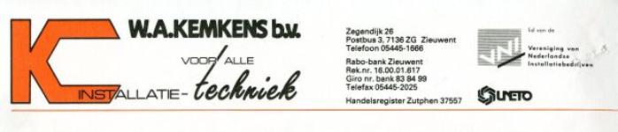 02531 W.A. Kemkens b.v. - installatietechniek
