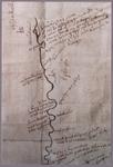 2100 Kaart van de Berkel. Origineel in Archief Waterschap van de Berkel