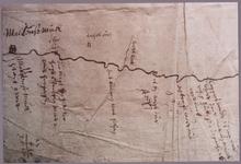 2101 Kaart van de Berkel. Origineel in Archief Waterschap van de Berkel